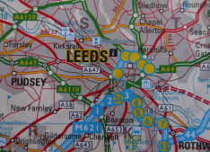 Leeds Property Map