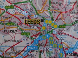 Leeds Property Map