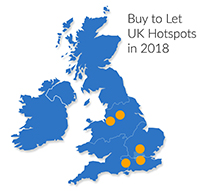 Where Are The Buy To Let UK Hotspots In 2018?