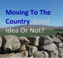 Moving To The Country, Good Idea Or Not?