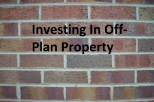 Off plan property